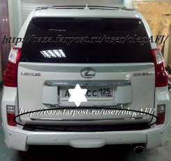Накладка на дверь багажника. Lexus GX460, SUV, URJ150 Toyota Land Cruiser Prado, GDJ150L, GDJ150W, GDJ151W, GRJ150, GRJ150L, GRJ150W, GRJ151, GRJ151W...