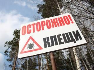 Противоклещевая обработка (акарицидная обработка) от 2700 рублей. Клещи