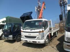 Hino Dutro. Продам грузовик с краном , 5 000 куб. см., 4 000 кг.