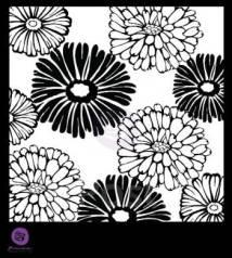 Маска для штампинга 15*15 см Цветы