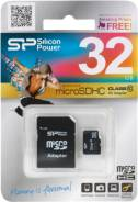 MicroSDHC. 32 Гб, интерфейс MicroSDHC