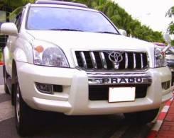 Силовые бампера. Toyota Land Cruiser Prado, GRJ120W, GRJ121W, KDJ120W, KDJ121W, KDJ125W, RZJ120W, RZJ125W, SUV, TRJ120W, TRJ125W, VZJ120W, VZJ121W, VZ...