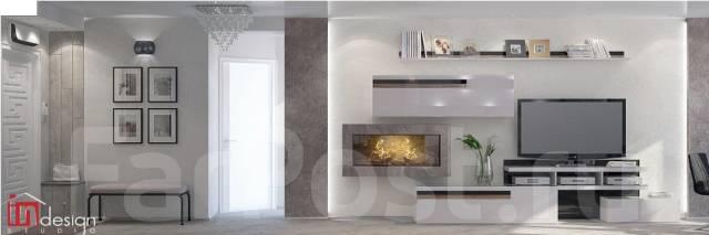 """Реализованный проект в ЖК""""На сопке Орлиное гнездо""""от Студии""""Ин Дизайн"""". Тип объекта квартира, комната, срок выполнения 3 месяца"""