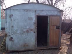 Продам гараж металический. р-н междуречье, 18 кв.м. Вид изнутри
