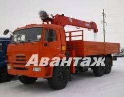 Камаз 43118 Сайгак. Камаз 43118 с манипулятором КМУ Kanglim 1256 7 тонн, 10 000 куб. см., 11 000 кг.