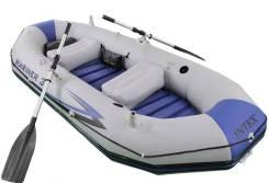 Лодка надувная Intex Mariner-3 Set (68378). длина 2,97м., двигатель подвесной, бензин
