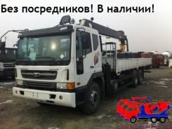 Daewoo Novus. (15,5тонн) с КМУ HIAB 190 (7тонн) 2014год., 10 964 куб. см., 15 500 кг.