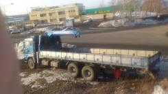 Mitsubishi. Грузовик бортовой с манипулятором 20т длинна кузова 9 метров, 17 737куб. см., 20 000кг., 6x4