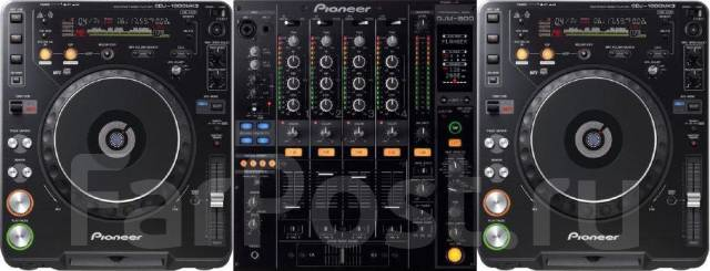 Аренда dj комплекта pioneer cdj-1000 mk3 (x2) и пульт pioneer djm ZD410