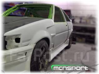Крыло. Isuzu D-MAX Toyota Corolla Levin, AE85, AE86