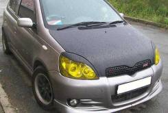 Накладка на фару. Toyota Vitz, NCP10 Toyota Yaris, NCP10