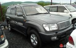 Ветровик. Toyota Land Cruiser, UZJ100
