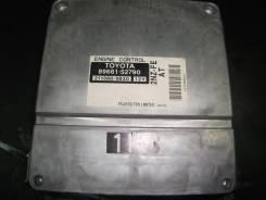 Блок управления двс. Toyota ist, NCP60 Двигатель 2NZFE