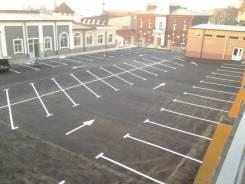 Разметка парковок. Дорожная разметка