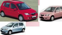Крепление капота. Mazda Demio, GW5W, DW3W, DW5W Двигатели: B5E, B3E
