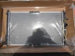 Радиатор охлаждения двигателя. Daewoo Sens, T100 Daewoo Lanos Chevrolet Lanos, T100 ЗАЗ Шанс
