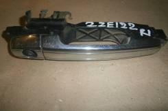 Ручка двери внешняя. Toyota Corolla Fielder, ZZE122G Двигатель 1ZZFE