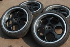 Комплект колес: RAYS Dolce-WIDE R18, 4x100! + ШИНЫ 215/40/18 11-192. 7.5/8.0x18 4x100.00 ET25/32