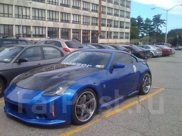 Обвес кузова аэродинамический. Nissan Fairlady Z, HZ34, Z34 Nissan 350Z Двигатель VQ37VHR