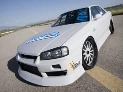 Обвес кузова аэродинамический. Nissan Skyline, BNR34, ENR34, ER34, HR34 Двигатели: RB25DET, RB25DE, RB20DE