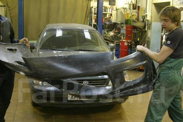 Обвес кузова аэродинамический. Toyota Corolla Levin