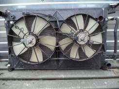 Радиатор охлаждения двигателя. Toyota Vista Ardeo, ZZV50G Двигатель 1ZZFE
