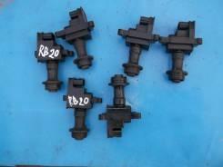 Катушка зажигания. Nissan Laurel, GC35, HC35, GNC35, SC35, GCC35, C35 Nissan Skyline Двигатели: RB20DE, RB25DE, RB20RB25