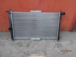 Радиатор охлаждения двигателя. ЗАЗ Шанс Daewoo Sens Daewoo Lanos Chevrolet Lanos, T100 Двигатель A15SMS