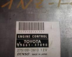 Блок управления двс. Toyota Prius, NHW20 Двигатель 1NZFXE