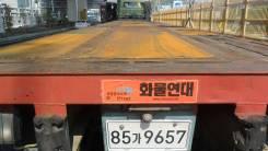 Korea Trailer. Контейнеровоз-площадка 1994г. 2е-оси. 40 фут., 31 000 кг.