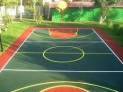 Резиновое покрытие для детских спортивных площадок, лестниц, дорожек