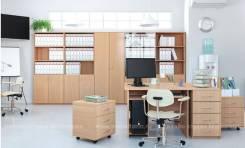 Офисная корпусная мебель - столы. шкафы, тумбы