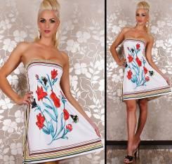 Платья-бандо. 44