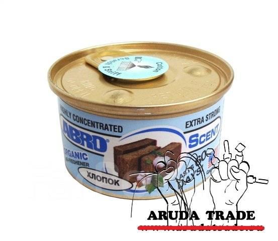 Автоароматизатор, Освежитель воздуха ABRO - (США) 10 Банок! (Новинки! )