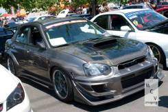 Бампер. Subaru Impreza WRX STI, GDB