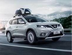 Накладка на порог. Nissan X-Trail Nissan Rogue. Под заказ