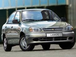 Радиатор охлаждения двигателя. ЗАЗ Ланос ЗАЗ Сенс Chevrolet Lanos