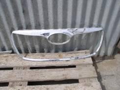 Молдинг решетки радиатора. Hyundai Santa Fe, CM Двигатели: D4EBV, G6EA