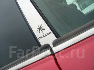 Накладка на стойку. Toyota Chaser, GX100, JZX100 Двигатели: 1GFE, 1JZGE, 1JZGTE, 2JZGE