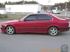 Накладка на порог. BMW 5-Series, E34. Под заказ