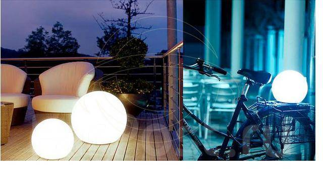 LED - Шар (водонепроницаемый/ударостойкий/дистанционное управление)