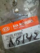 Крепление крышки багажника. Kia Rio
