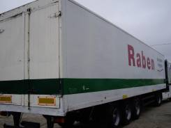 Spier. Полуприцеп-фургон SGL390, 27 000кг.