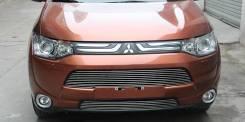 Обвес кузова аэродинамический. Mitsubishi Outlander