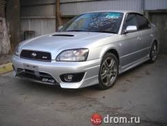 Накладка на бампер. Subaru Legacy B4, BE5