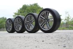 """Штатные колеса Nissan Fuga R19 С летней резиной 245/40R19. 8.5x19"""" 5x114.30 ET50 ЦО 66,6мм."""