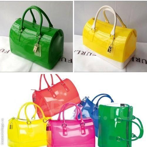 0e40359d48ef 60%! Сочные силиконовые сумки Furla Candy bag* за 999 руб.! 2 цвета ...