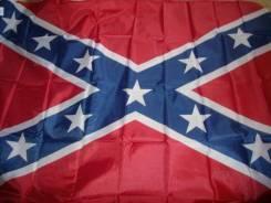 """""""Флаг конфедератов"""" с широкой полосой"""