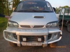 Накладка на фару. Mitsubishi Delica