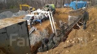 Капитальное строительство : фундаментов , опорные стены, заборы и тд.